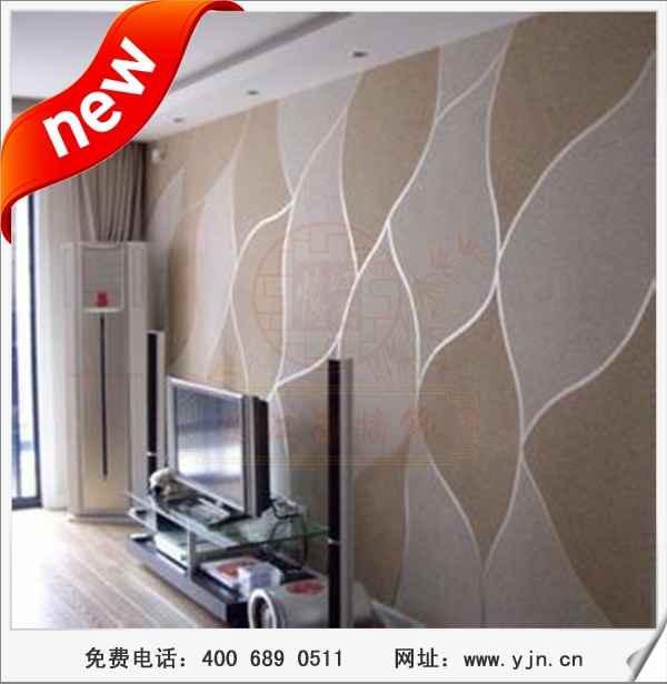 厂家供应新型建筑涂料,忆江南3D彩粒漆家居背景墙装饰材料