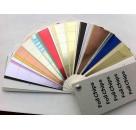 扇形色卡制作 彩带色卡样板册 真石漆色卡