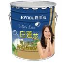 超白抗污环保内墙漆嘉图白莲花中国十大品牌