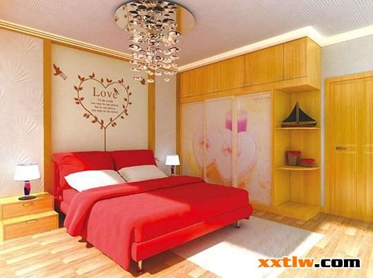 2015硅藻泥背景墻:婚房臥室背景墻實景案例