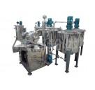 【鑫邦】陶瓷 油墨 涂料生产设备 纳米级卧式砂磨机厂家