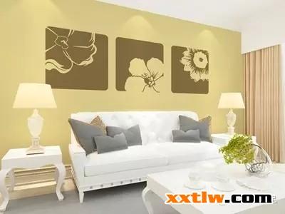 硅藻泥沙发背景墙原来可以这么美!