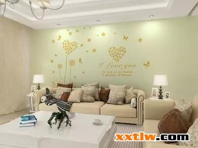告别单调,硅藻泥沙发背景墙原来可以这么美