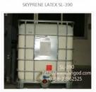 SL-390氯丁橡胶胶乳聚氨酯发泡海绵粘接专用