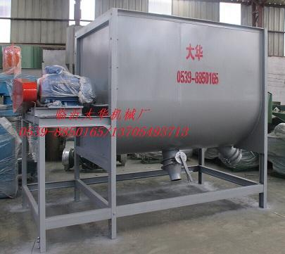 5000型卧式砂浆搅拌机自动灌装