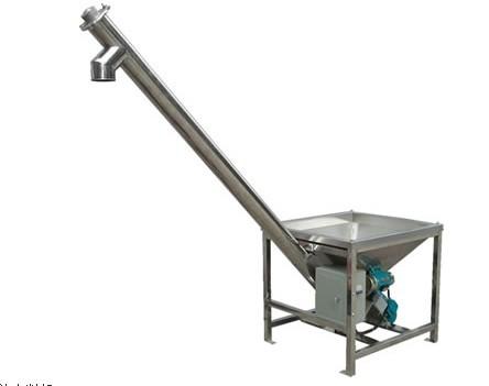 化工用不锈钢螺旋提升机 不锈钢螺旋上料机 不锈钢输送机价格