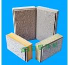 真石漆保温装饰一体板,复合保温装饰板