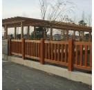 环保水性木器漆 公园仿木纹漆工艺 墙面复古艺术涂料批发