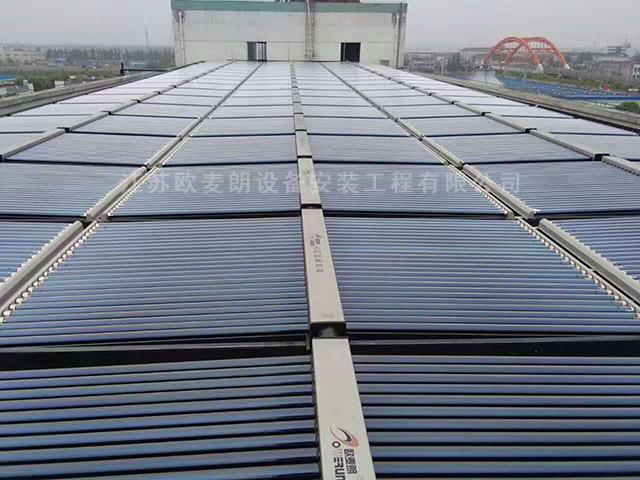 江苏常州镇江常熟工业高温空气能太阳能热水系统