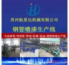 甘肃钢管喷漆生产线HXD--SCX300