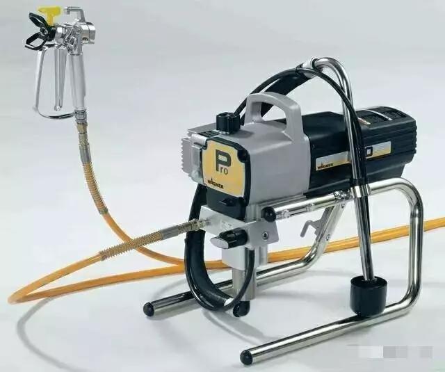 泵送式喷枪(无气喷涂)
