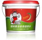 彩色防水涂料 德高防水浆料加盟 防水材料价格