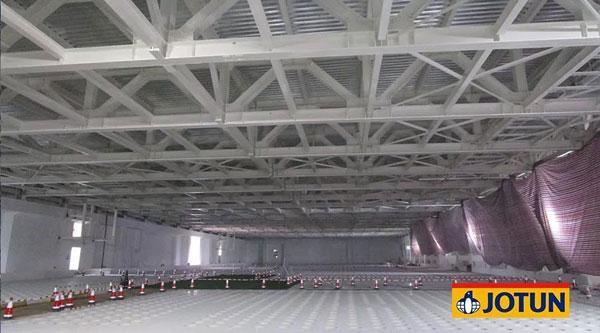 佐敦水性超薄膨胀型防火涂料 为天津中芯国际提供绿色防护