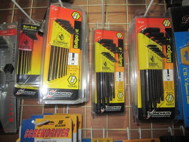 供应美国猴头邦毫斯BONDHUS品牌六角匙波顿工具