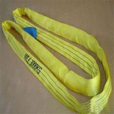 力夫特柔性吊带,圆形吊装带,柔性起重吊带