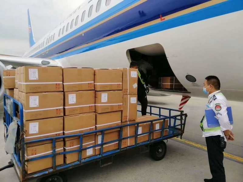 广州白云机场中国国航机场航空快递托运印刷品