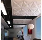 中国生产世禾3d背景墙出口直销防潮立体墙板批发