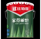 乳胶漆加盟厂家 比伯家得丽亮白净味2+1墙面漆工厂