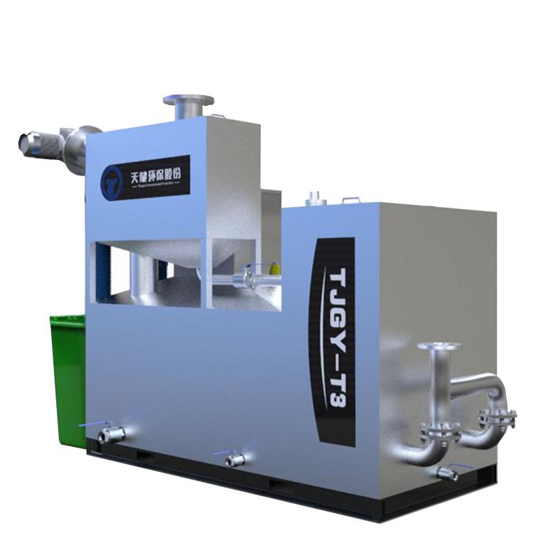 天健环保-TJGT3一体化餐饮隔油提升设备
