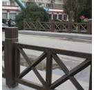 厂家直供艺术涂料水性木纹漆铁管护栏仿木纹漆操作快捷价格优势大