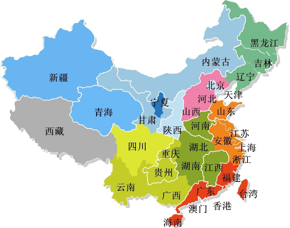 企业分布地图